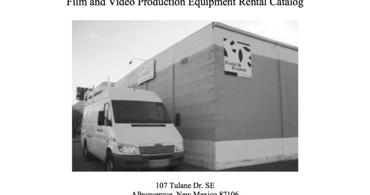 Film Production Rental Catalog